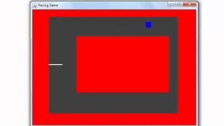 Java racing game