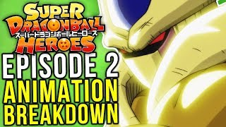 Cumber & Coola! Dragon Ball Heroes Episode 2 - Animation Breakdown
