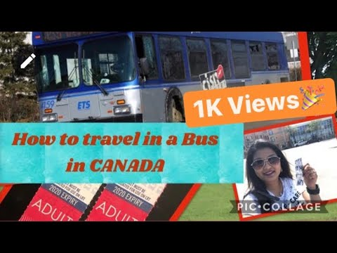 How To Travel In A Bus In CANADA