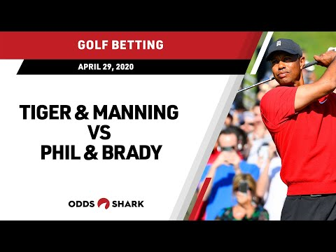 Tiger Woods And Peyton Manning Vs Phil Mickelson And Tom Brady Betting Odds Analysis