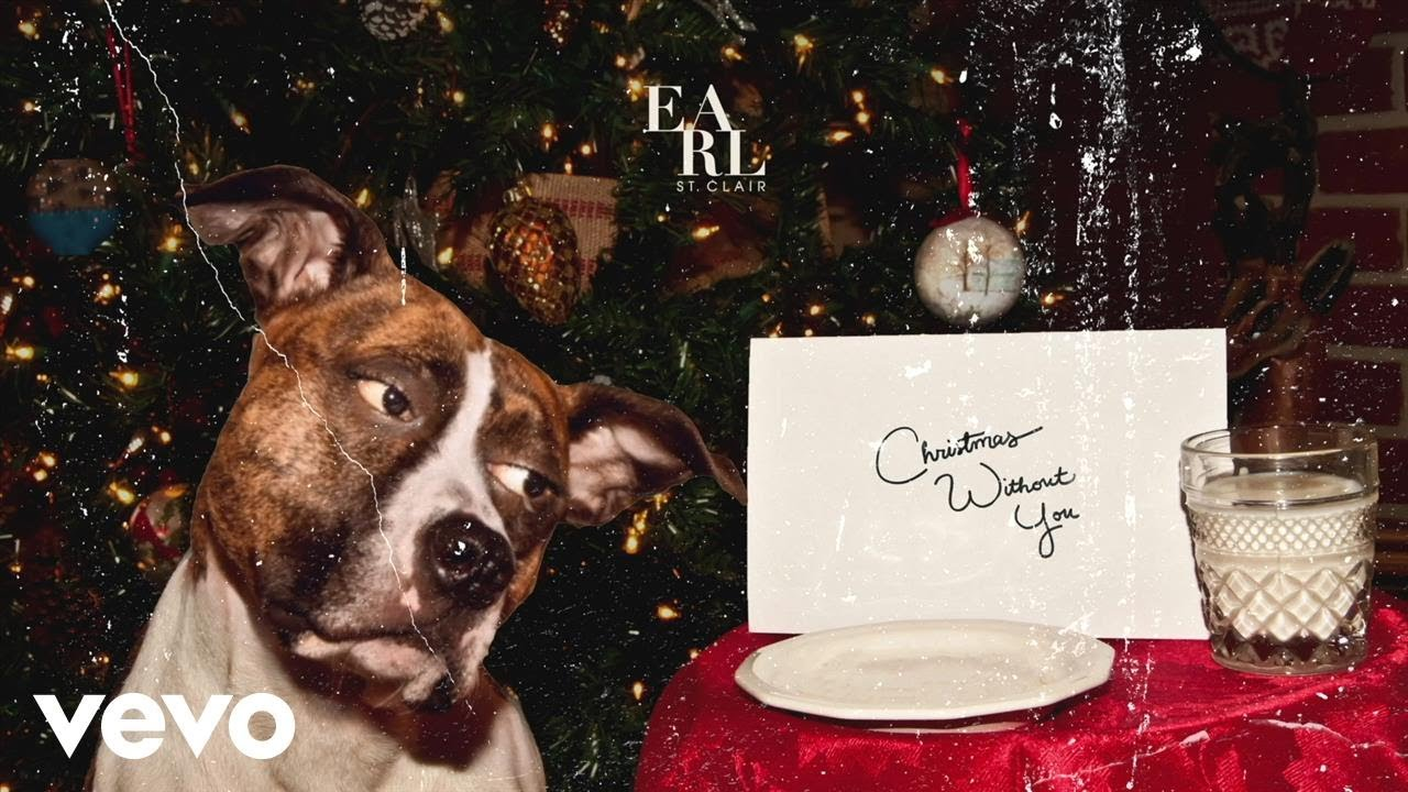 Christmas Without You.Earl St Clair Christmas Without You Lyric Video