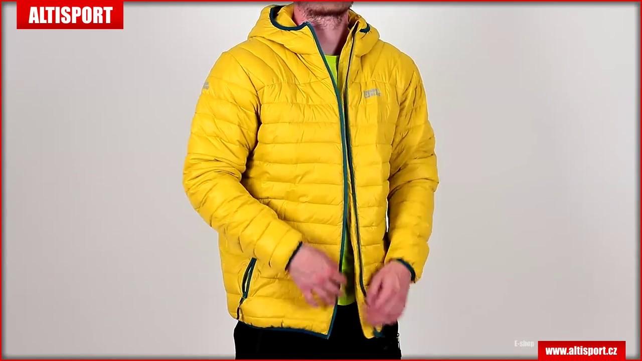 pánská zimní bunda nordblanc quilt nbwjm6410 mechově zelená - YouTube 1186de73cf1