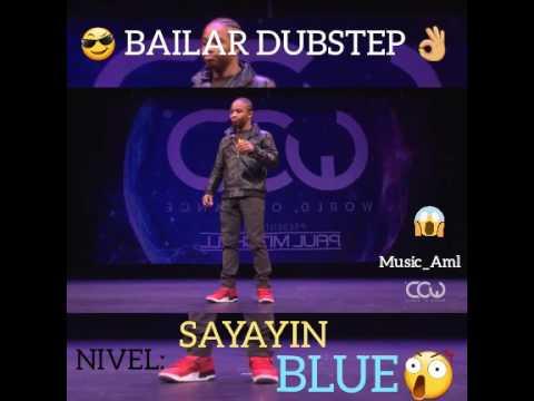 Bailar dubstep nivel sayayin Blue-Fik  Shun HD 2017 | World of dance