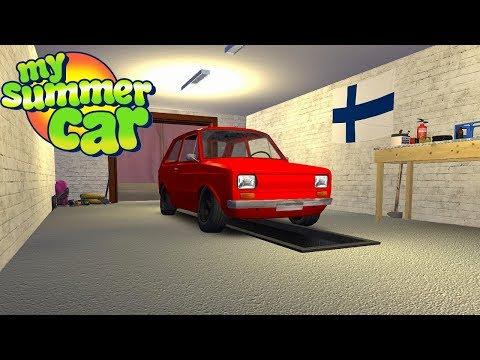 TUNED FITTAN - MY NEW CAR (GREEN CAR) - My Summer Car Story #64