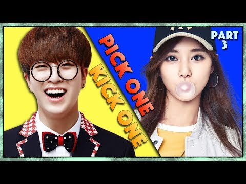 Pick One Kick One Part 3 -Kpop Songs - Kpop Game
