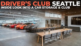 Touring 68,000 Sq. Ft. of Amazing Garage:  Driver's Club Seattle