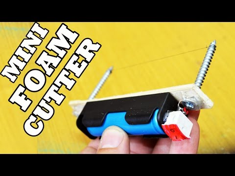 How To Make: Mini Foam Cutter