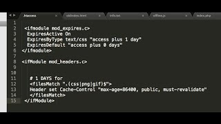 cache-control headers in apache