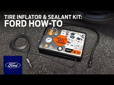 Tire Inflator and Sealant Kit | Ford How-To | Ford