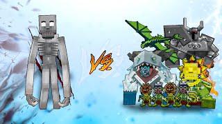 SCP 096 vs Mowzie Mobs in Minecraft PE