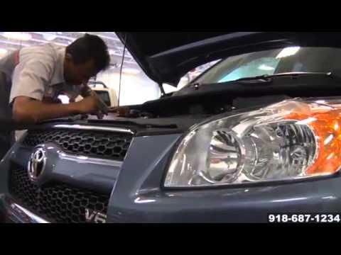 Toyota Oil Change Engine Motor Oil Lube Filter Service McAlester Tahlequah OK
