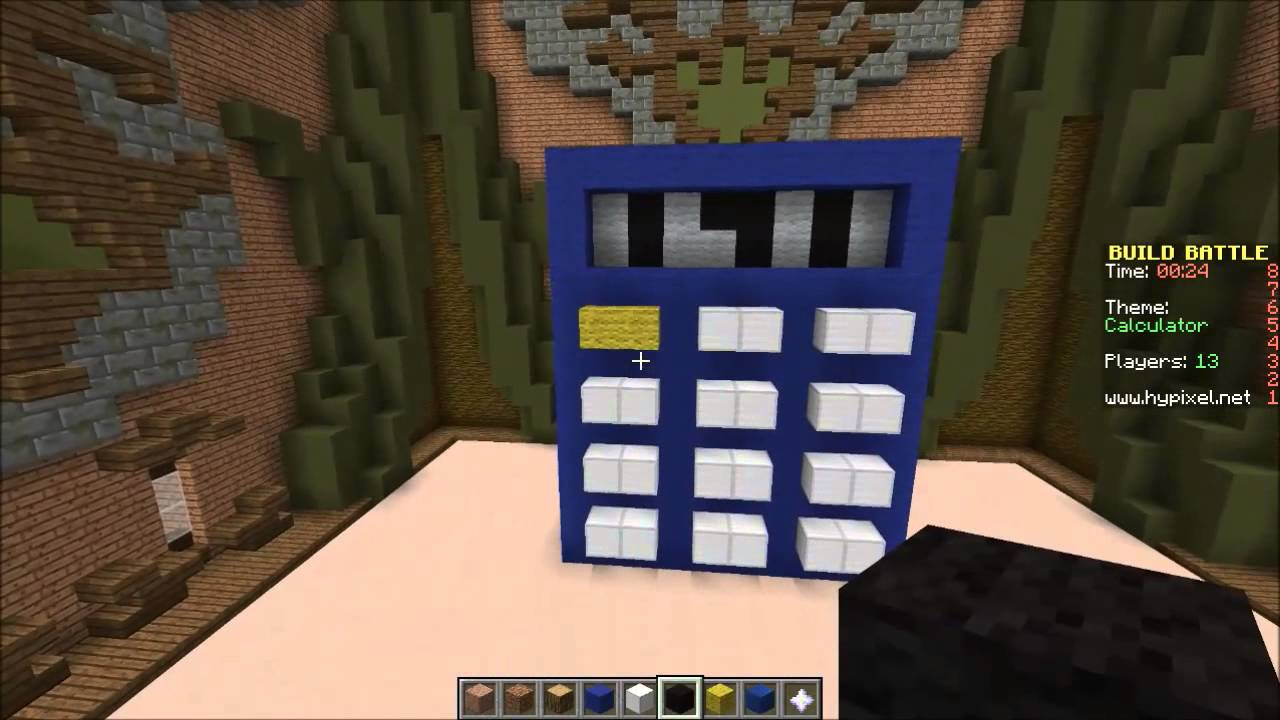 Build battle hypixel minigame truck calculator modern for Build a house calculator