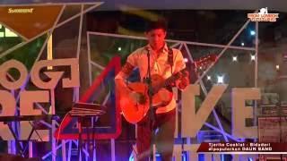 "Daun Band - ""Bidadari"" Cover by Tjerita Coeklat - Live at Lippo Plaza Jogja"