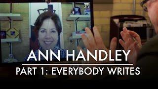 آن هاندلي الجزء 1: الجميع يكتب   AQ مدونة & Grill