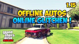 GTA 5 Online: AUTOS VOM OFFLINE MODUS ONLINE BRINGEN | SUPER EINFACH | 1.15 | Deutsch