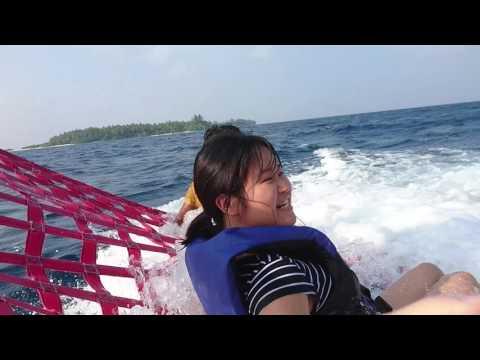 water sport in Kandooma resort Maldives