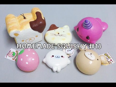 Homemade Squishy Collection 2014 : ????????????????? (Homemade Squishy Collection) #13 BarBeeBooBay - YouTube