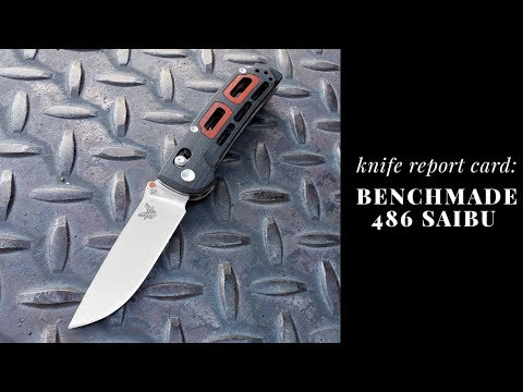 Repeat Knife Report Card: Benchmade 486 Saibu by DaddyO EDC - You2Repeat