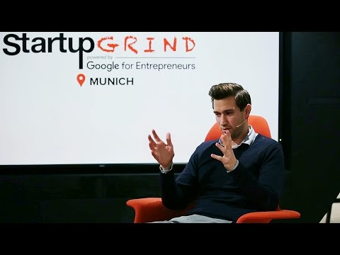 Jochen Engert (CEO of Flixbus) at Startup Grind Munich