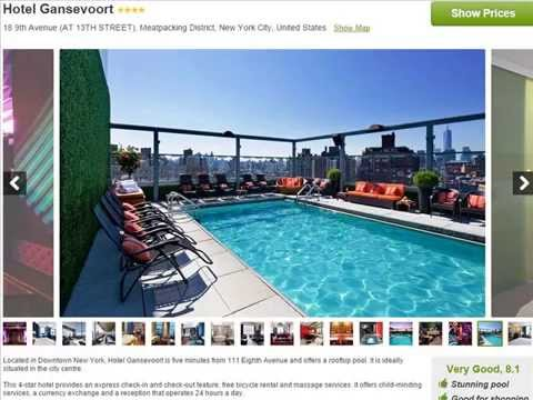 Hotels in Manhattan With Rooftop Pools