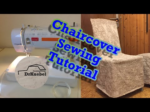 How To Sew Chair Covers. // Slip Covers