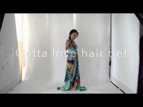 Camilla Round Neck Kaftan Styling Part II