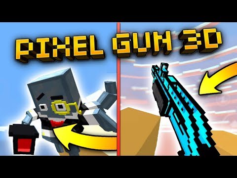 All Guns and Reloading Animations in Pixel Gun 3D! (Every Gun in PG3D)