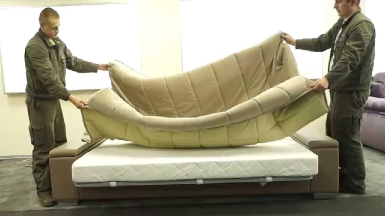 Инструкция по сборке дивана Askona Orion - YouTube