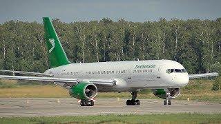 [+ATC] Turkmenistan Airlines Boeing 757-22K EZ-A011 | Аэропорт Домодедово