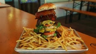 Can You Beat This Burger Challenge?
