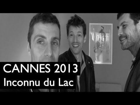 CANNES 2013 : Pierre Deladonchamps et Christophe Paou L'Inconnu du Lac d'Alain Guiraudie