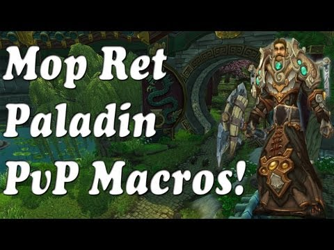 Repeat Holy Paladin 5 4 PvP Guide - Keybinds and Macros (WoW