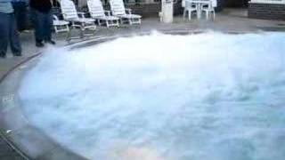 Liquid Nitrogen Into A Swimming Pool thumbnail