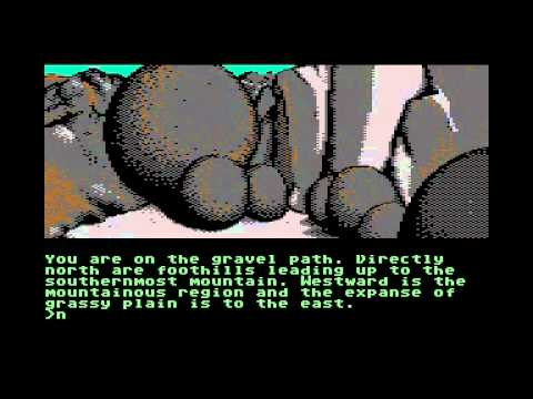 The Pawn (Rainbird) C64 graphic adventure (me just messing about sort of thing)