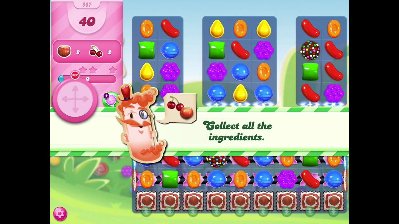 How To Beat Level 987 In Candy Crush Saga