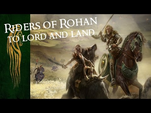 """BFME2: Edain 4.3 Beta - NEW Rohan Outpost! """"Riders of Rohan! Oaths you have taken!"""""""