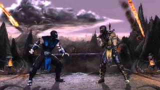 Mortal Kombat 9 - Sub-Zero and Noob Saibot (Tag Ladder) [Expert] No Matches/Rounds Lost
