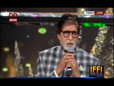 Amitabh Bachchan speaks on being conferred with 'Indian Film Personality of the Year' award