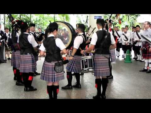 Singapore & Southeast Asian Pipe Band Championship 2011 -  Medley