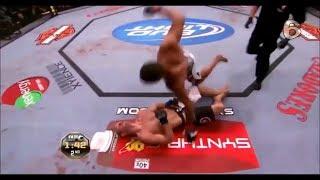 Вырубил с одного удара ! ТОП 10 UFC