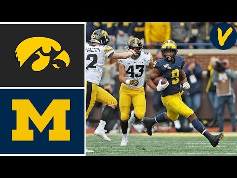 #14 Iowa vs #19 Michigan | Week 6 | College Football Full Ga