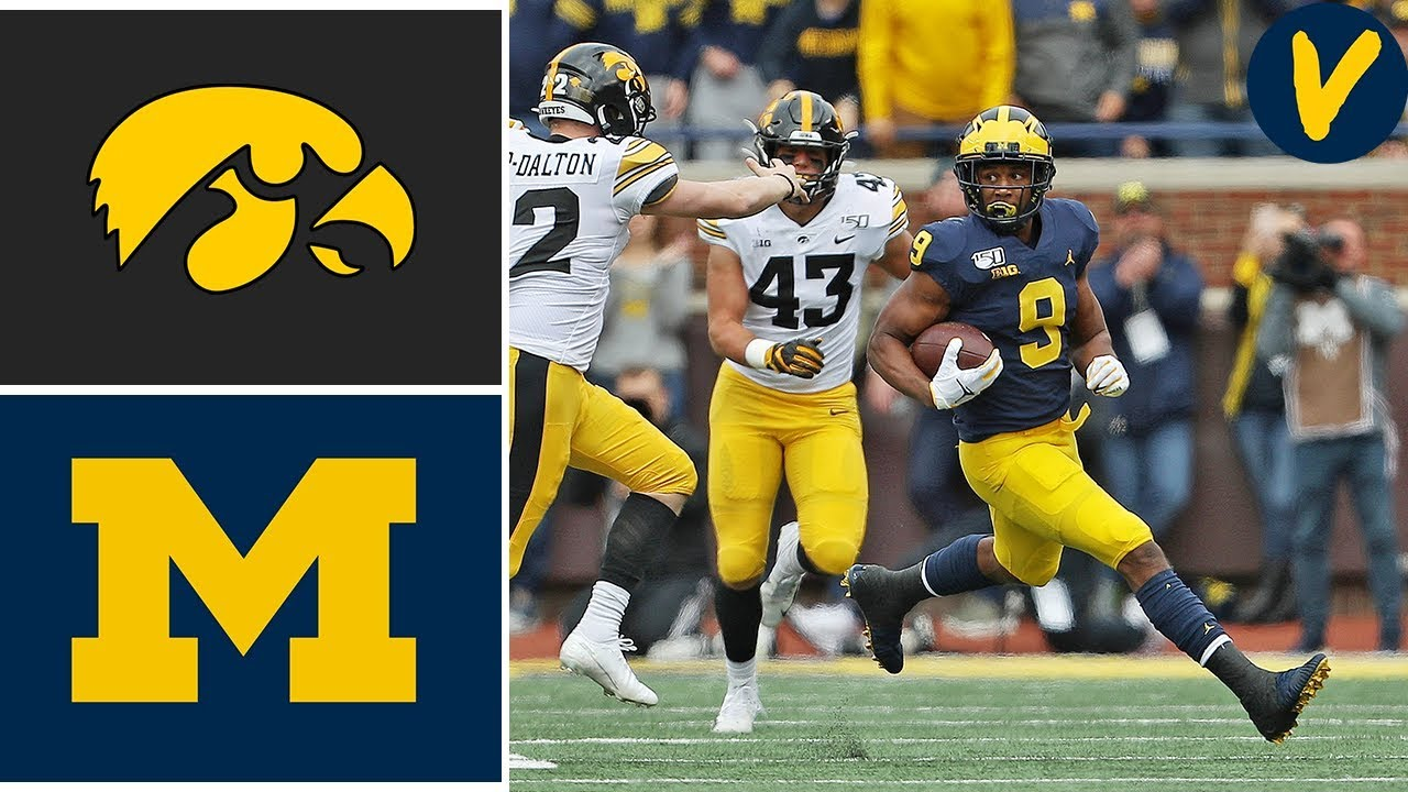 #14 Iowa vs #19 Michigan | Week 6 | College Football Full Game Highlights | 2019