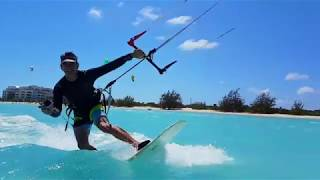 Turks and Caicos Kitesurfing - Nordhavn Take 5 Crew