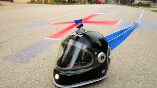 How To Make a Helmet Helicopter