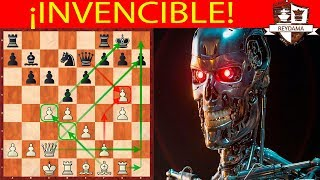 Es invencible! | AlphaZero Vs Stockfish | Gambito de Dama Variante Anti Merano (1) Match 2018