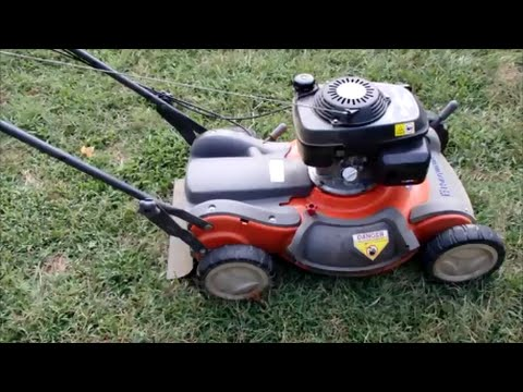 "Husqvarna 21"" Lawn Mower Model 55R21HV Honda Engine - It's Alive! - Sept. 3, 2015"