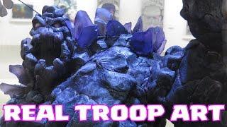 Clash Of Clans REAL TROOP ART ( Korea SC HQ)