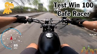 Đánh giá chi tiết Win 100 độ Cafe Racer SIÊU NGẦU 16 triệu - Xe Ôm Vlog