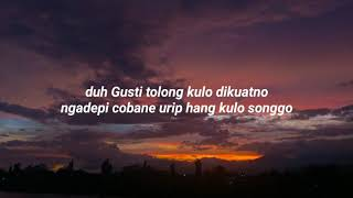 Sing Mungkin - Vita Alvia Cover Anggun Pramudita Lirik Video