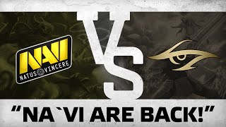 """Na`Vi"" are back!"" vs Team Secret @ Dota Pit S4"
